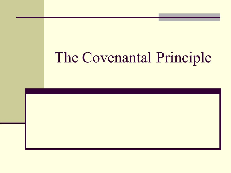 The New Covenant It is unconditional.Not that all will be saved but all can be saved.