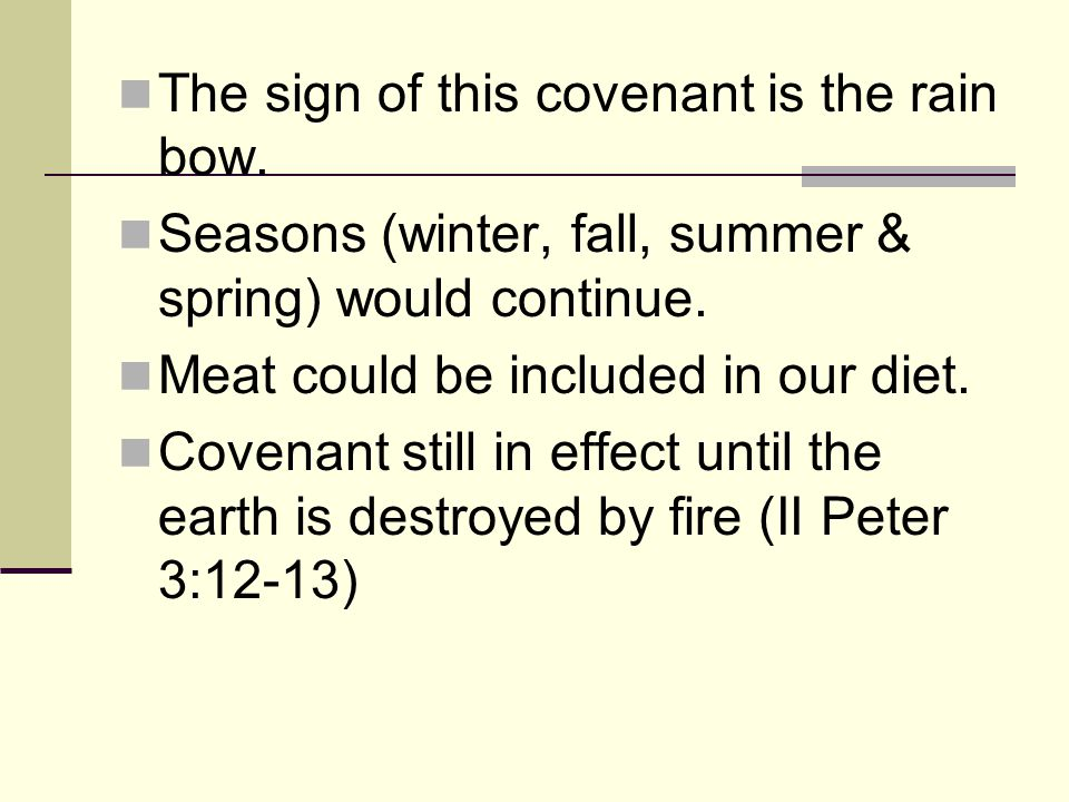 The Abrahamic Covenant It is an unconditional covenant.