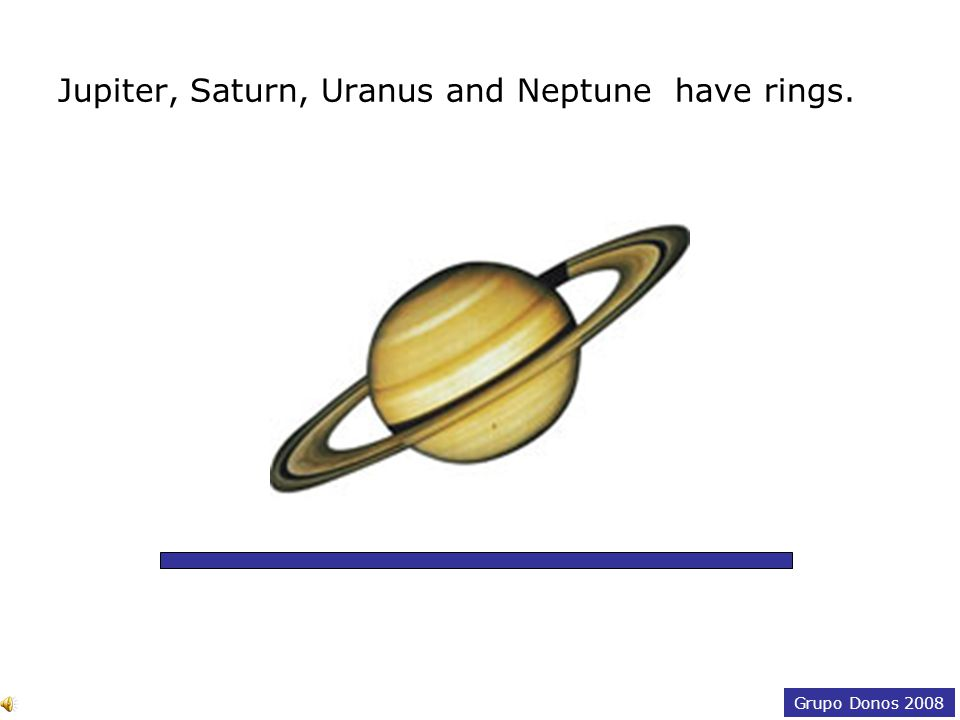 Grupo Donos 2008 The other two planets —Uranus and Neptune— and Pluto were discovered using a telescope.