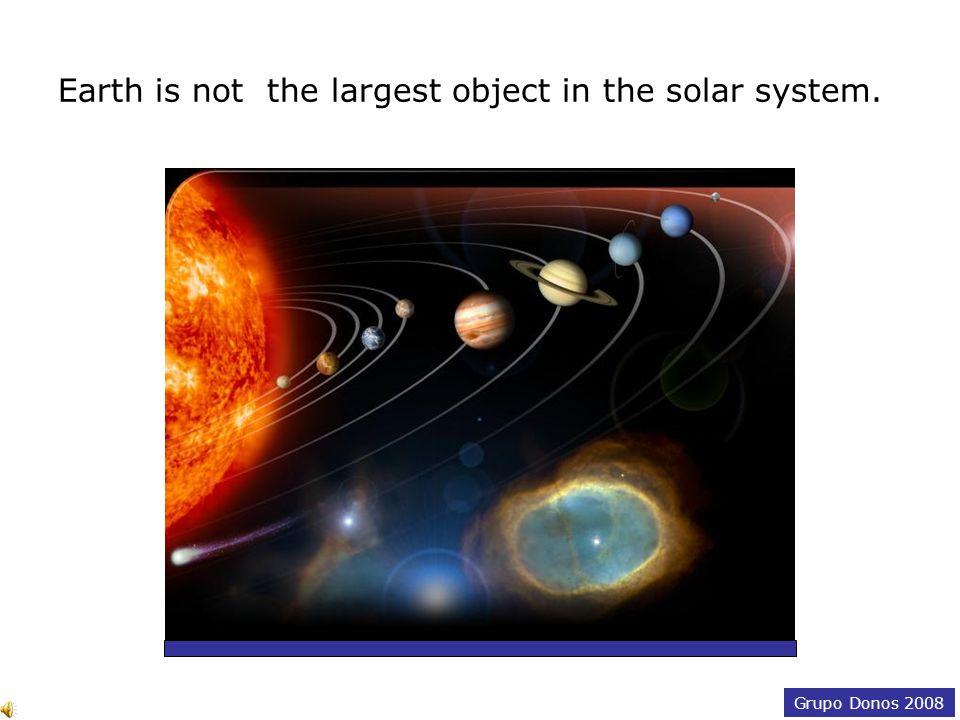 Grupo Donos 2008 Jupiter, Saturn, Uranus and Neptune have rings.