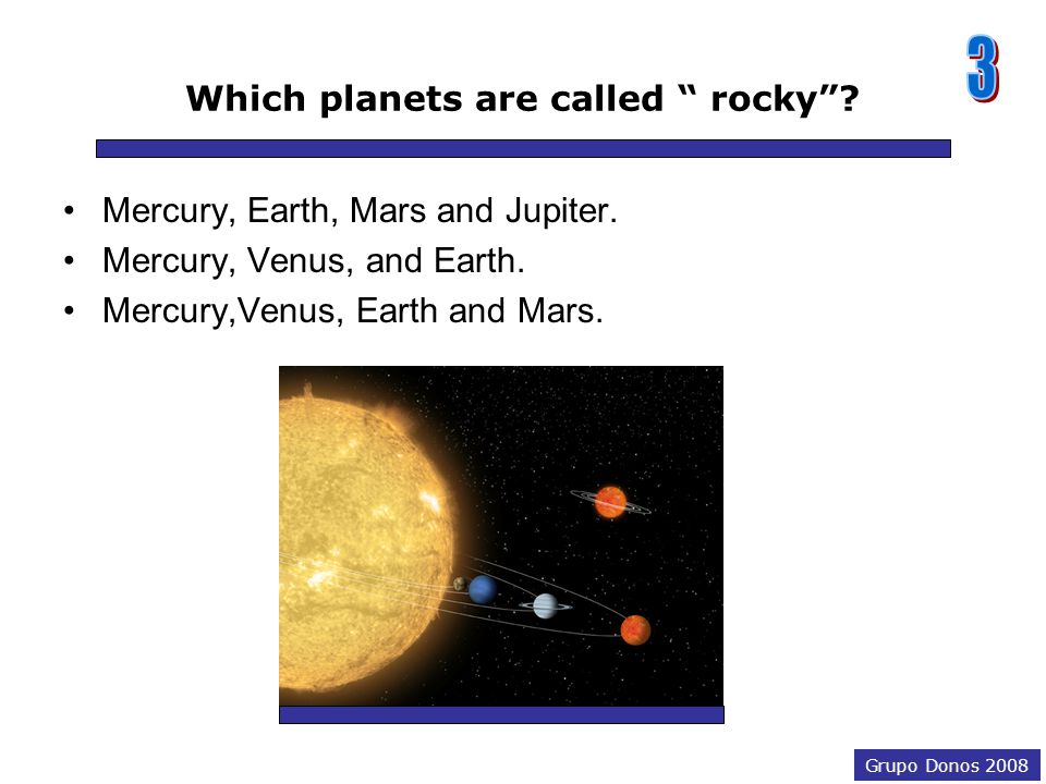 Grupo Donos 2008 How old is our solar system? It's about 4.5 billion years old