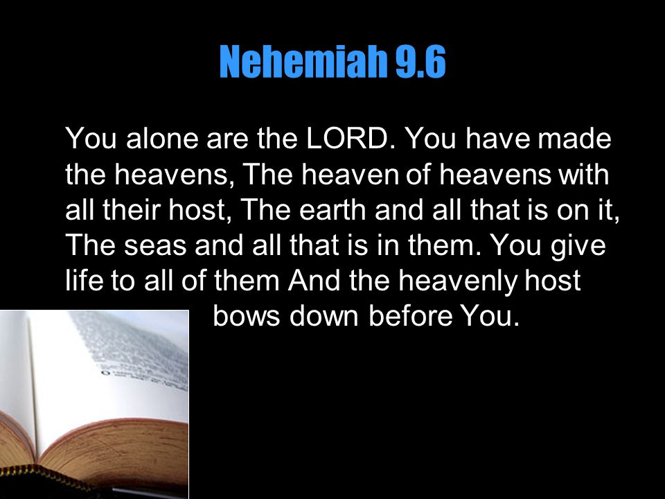 Psalm 86.8-10 8 There is no one like You among the gods, O Lord, Nor are there any works like Yours.