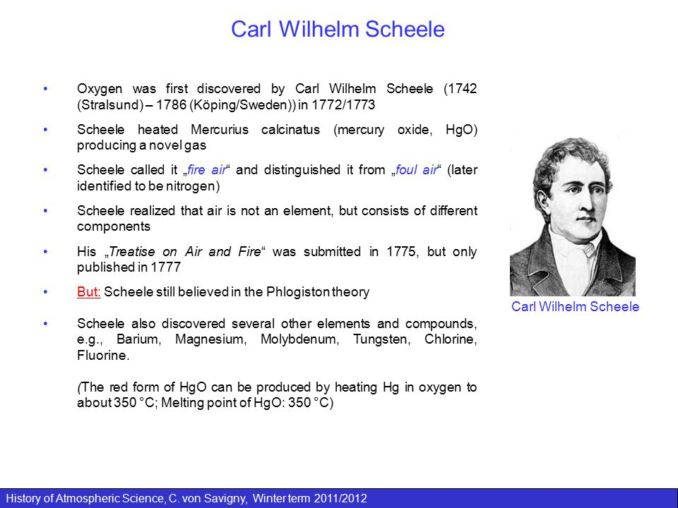 History of Atmospheric Science, C.