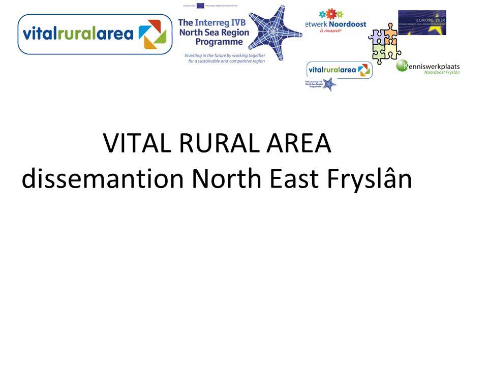 VITAL RURAL AREA dissemantion North East Fryslân