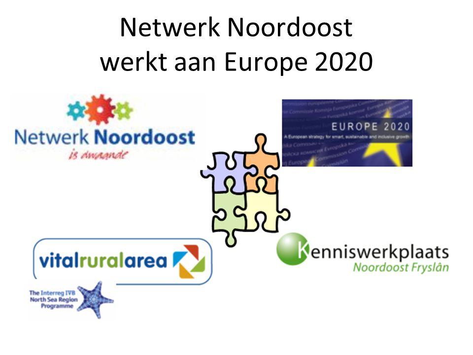Netwerk Noordoost werkt aan Europe 2020