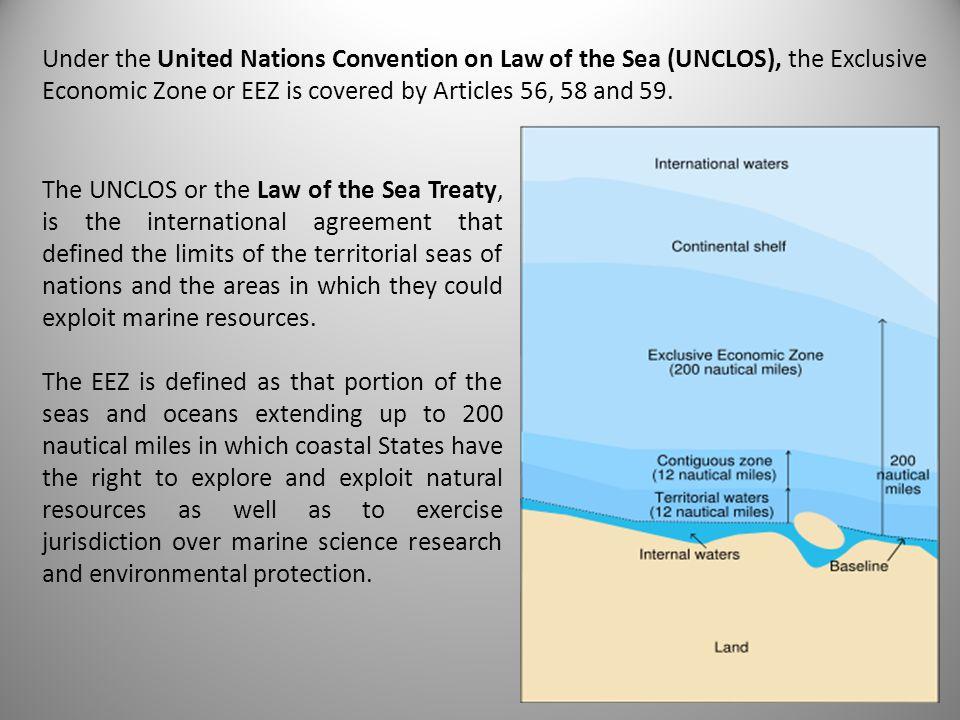 3 REGIMES CHART 1000 2000 3000 5000 4000 Oceanic crust (basalt) Shelf edge Geological slope GCCS (4) LLLaaannnddd Continental crust (granite) Base of the slope Geological rise GCHS (26-30) High Seas 3 Nautical Miles 12 Nautical Miles 24 Nautical Miles 200 Nautical Miles 0 Depth in meters OOOccceeeaaannn UNCLOS (3)UNCLOS (33) UNCLOS (57) UNCLOS (87,112-115) High Seas UNCLOS (79,113-115) Territorial Sea Contiguous Zone Exclusive Economic Zone UNCLOS (58, 113-115) LEGAL REGIMES : UNITED NATIONS LAW OF THE SEA CONVENTION 1982 (UNCLOS) GENEVA CONVENTION ON THE HIGH SEAS (April 29, 1958) (GCHS) GENEVA CONVENTION ON THE CONTINENTAL SHELF (April 29, 1958) (GCCS)