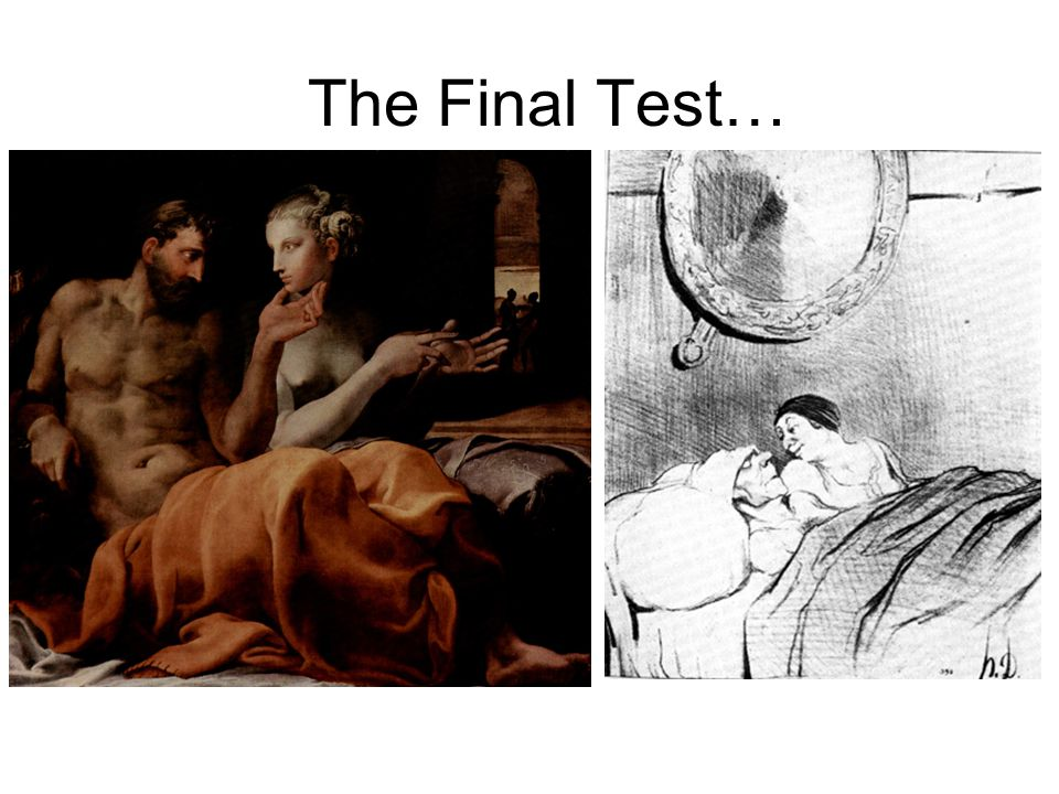 The Final Test… Francesco Primaticcio Daumier