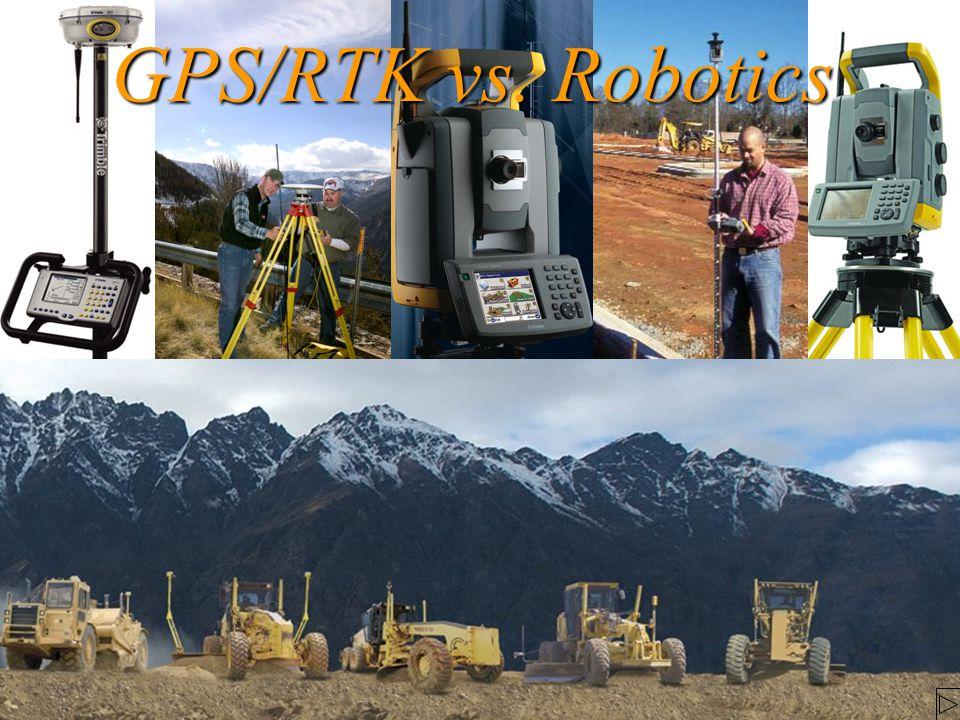 GPS/RTK vs. Robotics