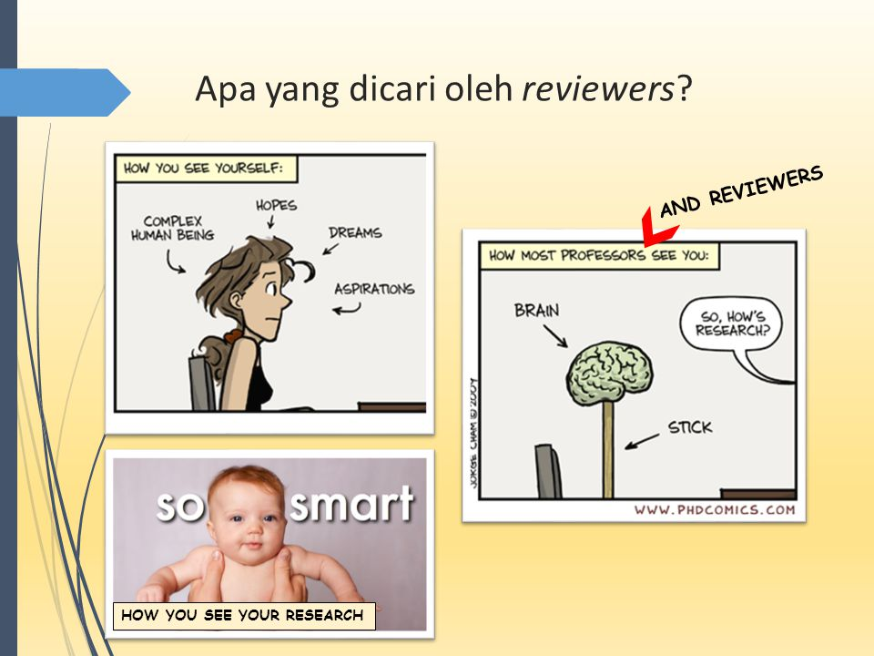 Apa yang dicari oleh reviewers AND REVIEWERS HOW YOU SEE YOUR RESEARCH