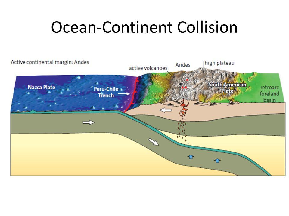 Ocean-Continent Collision