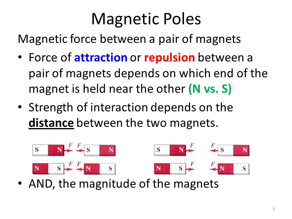 Magnetic fields (continued) Produced by two kinds of electron motion – electron spin main contributor to magnetism pair of electrons spinning in same direction creates a stronger magnet pair of electrons spinning in opposite direction cancels magnetic field of the other – electron revolution 14