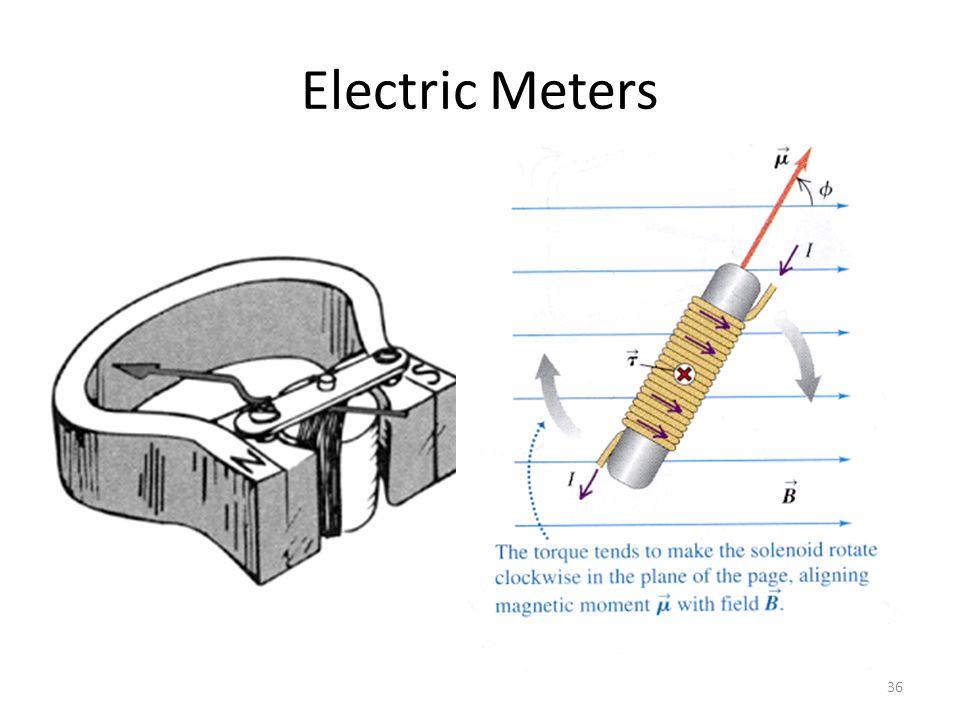 Electric Meters 36