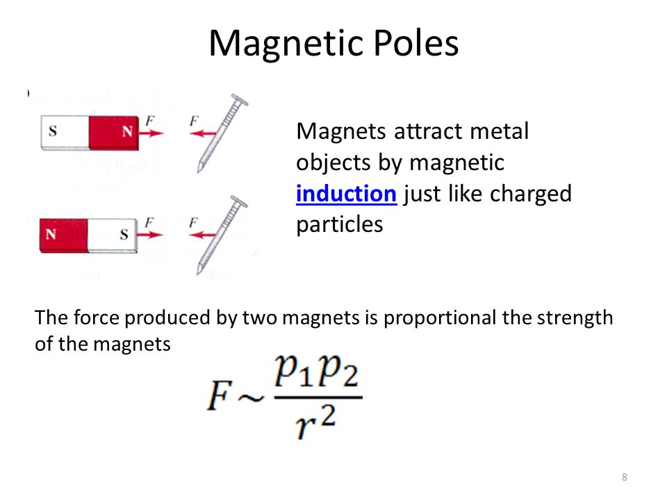 Magnetic Force on Moving Charged Particles 29 A charged particle moving through a magnetic field will be effected by the magnetic field.