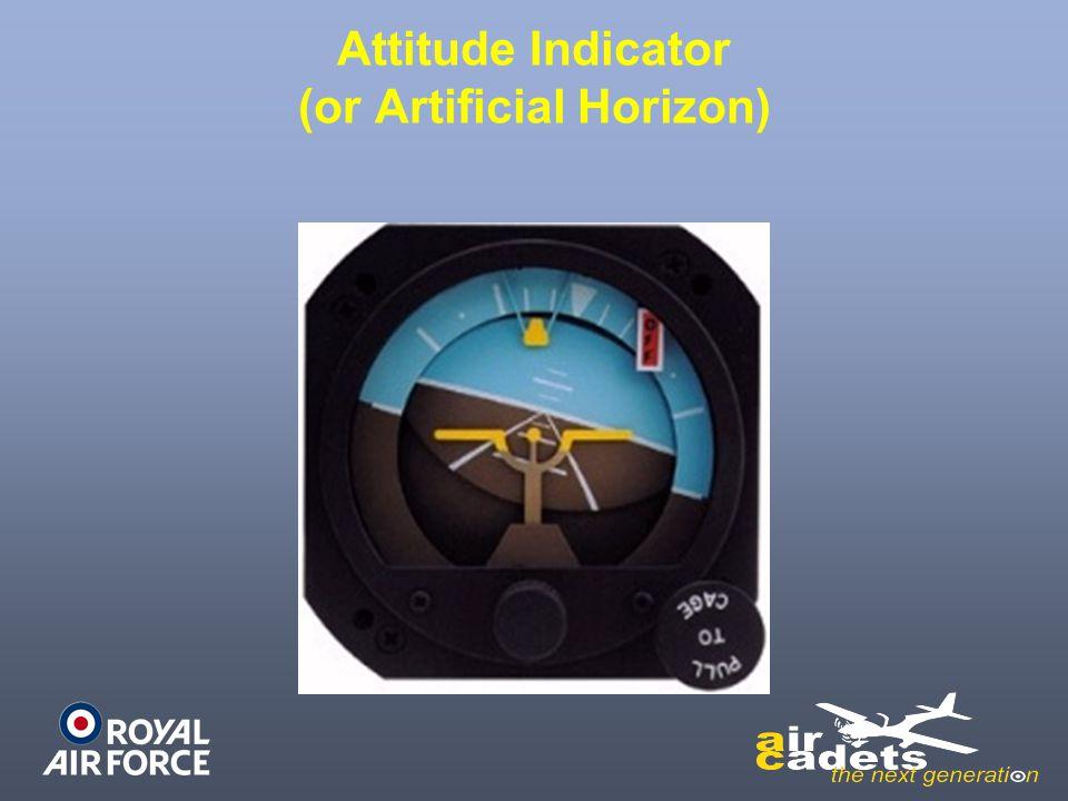 Attitude Indicator (or Artificial Horizon)