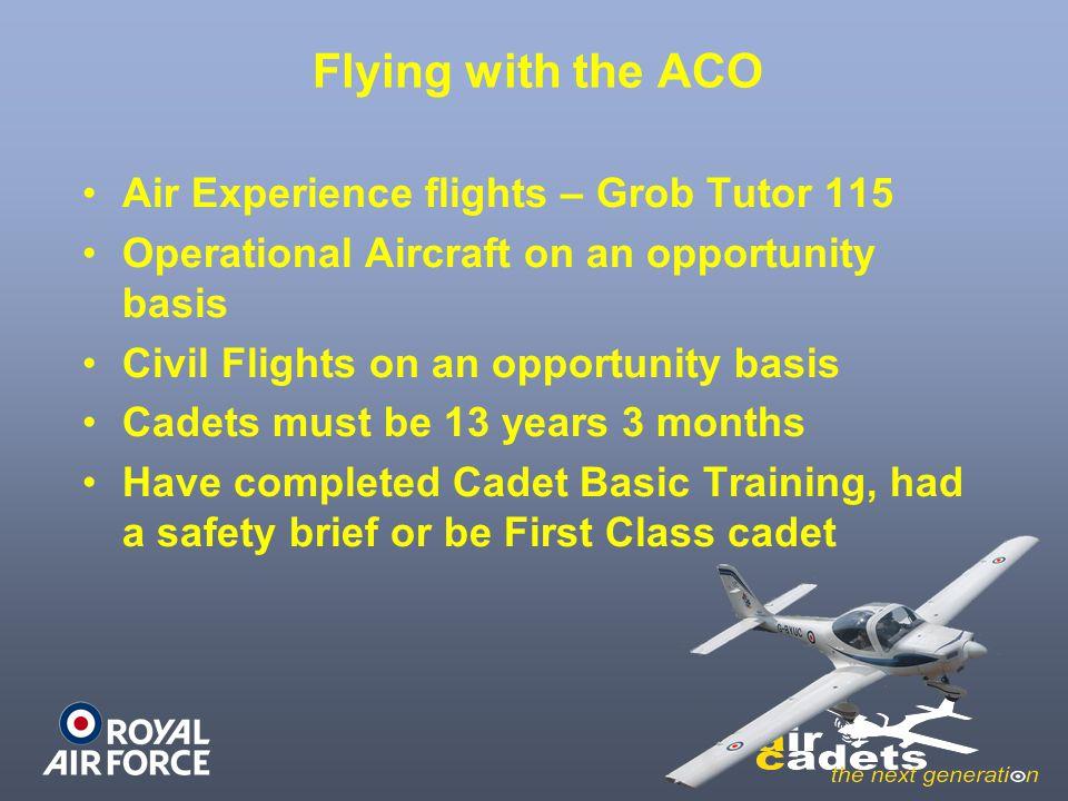 7 Air Experience Flight RAF Cranwell Return to Map Next Slide