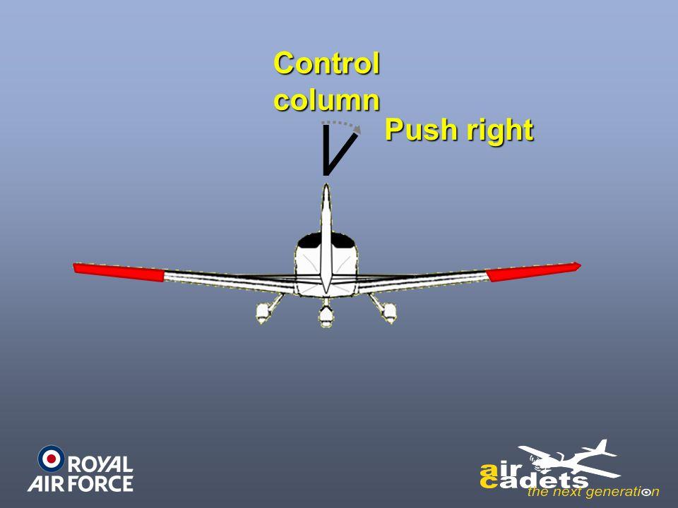 Controlcolumn Push right
