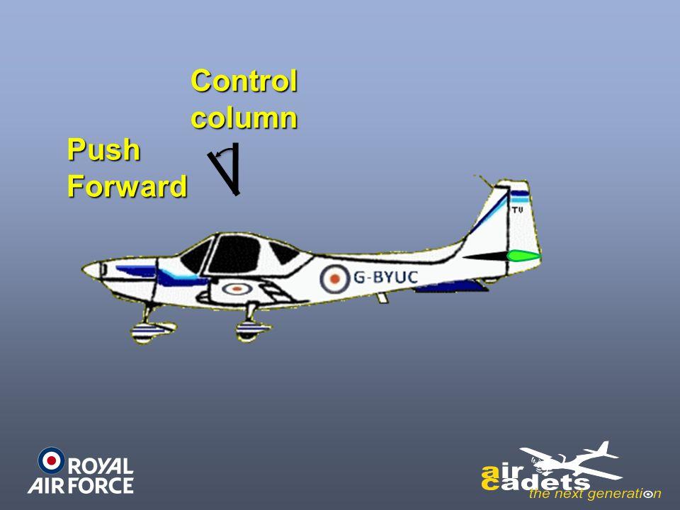 Controlcolumn PushForward