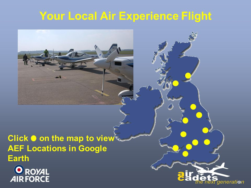 1 Air Experience Flight RAF St Athan Return to Map Next Slide