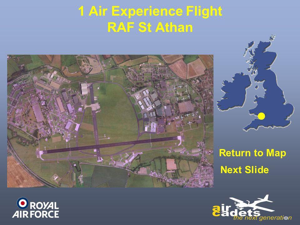 12 Air Experience Flight RAF Leuchars Return to Map Next Slide