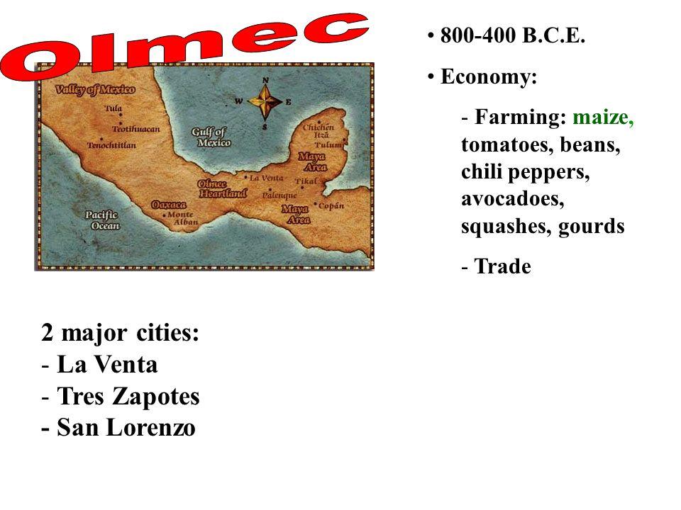 800-400 B.C.E.