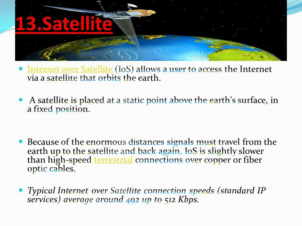 13.Satellite