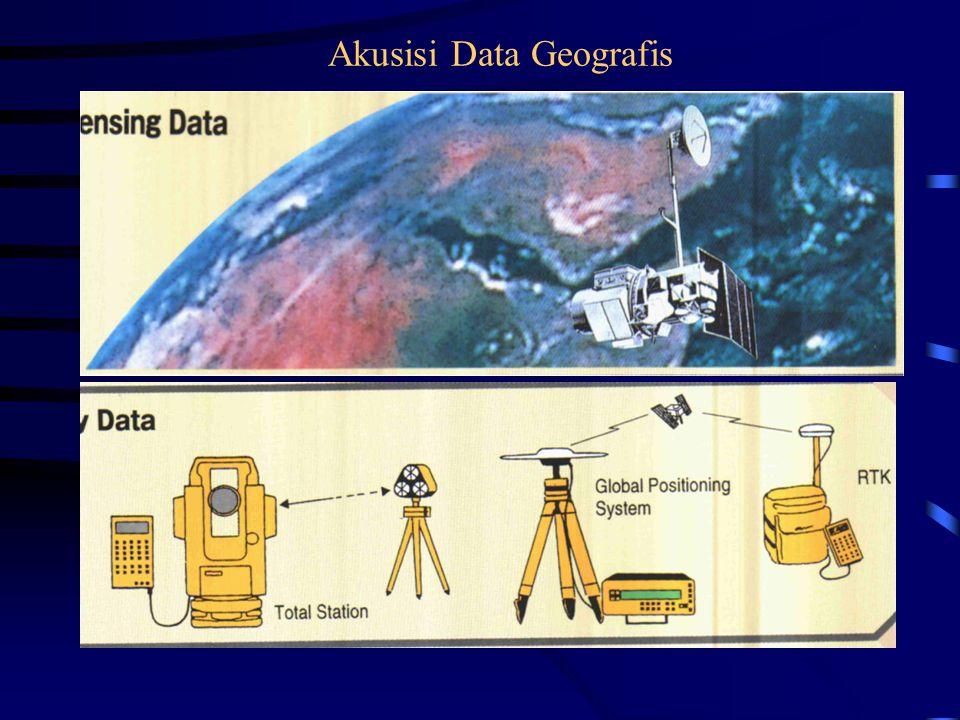 Data Geografis Yang Tersimpan