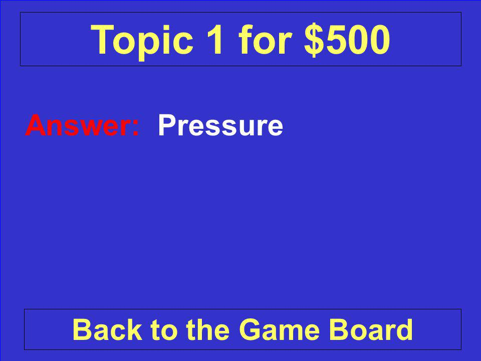 Question: What keeps the center of the Earth solid Check Your Answer Topic 1 for $500
