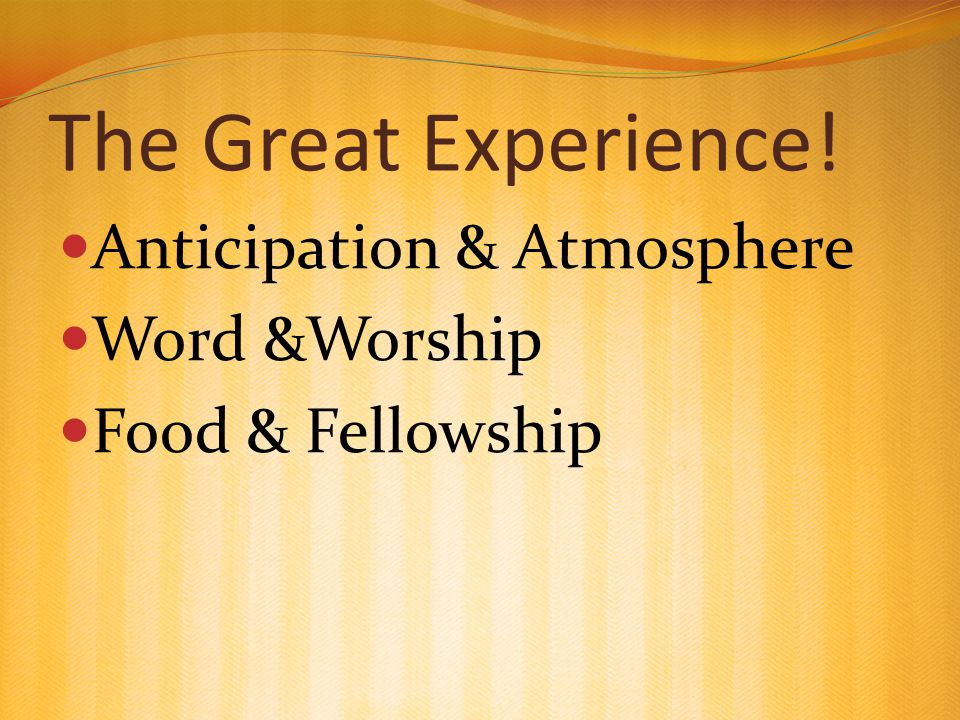 Anticipation An emotion involving pleasure, excitement and sometimes anxiety in considering some expected or longed-for good event. - Wikipedia Creating excitement & raising expectation If you are not anticipating, it may be because you don't expect anything to come out of it!