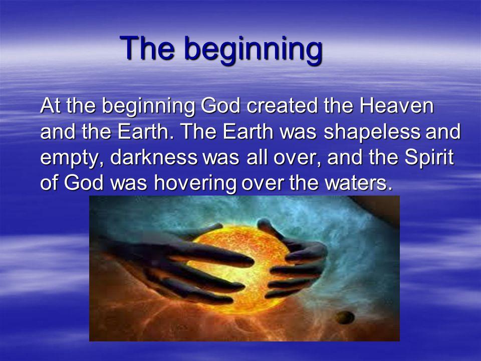  Genesis (from Greek - γένεσις) means origin, occurance, generation.