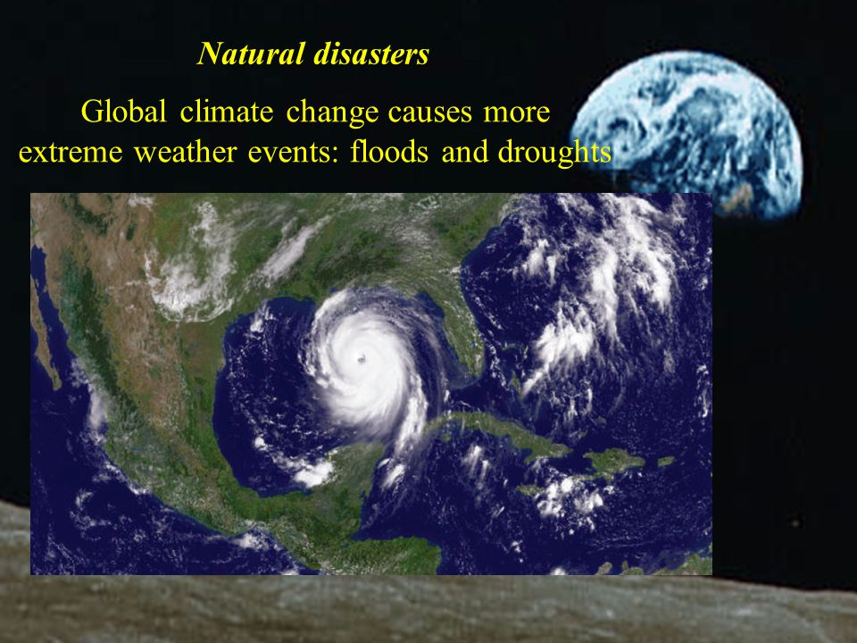 'From everyone who has been given much, much will be demanded; and from the one who has been entrusted with much, much more will be asked' (Luke 12:48) Natural disasters