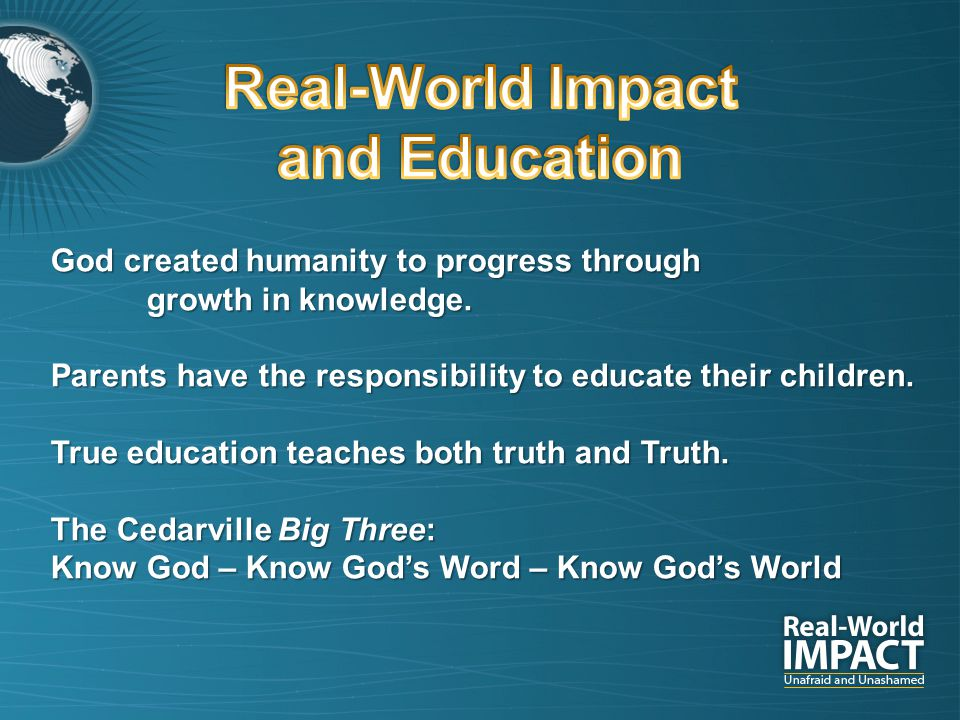 God created humanity to progress through growth in knowledge.