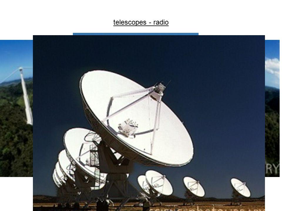 telescopes - radio
