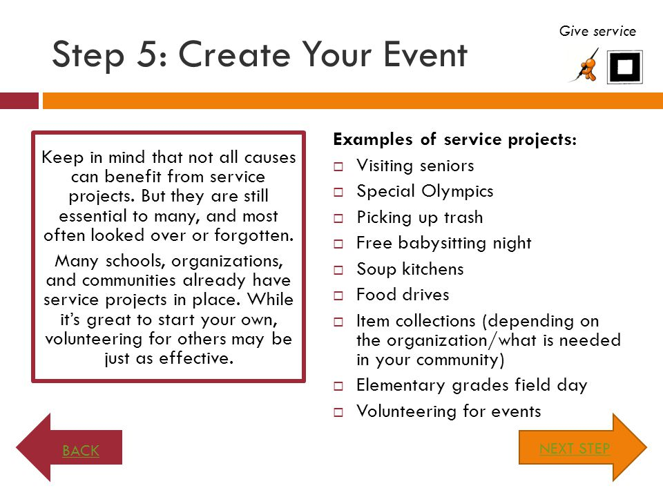 ALL the Above. Almost every outreach project can have more than one method of support.