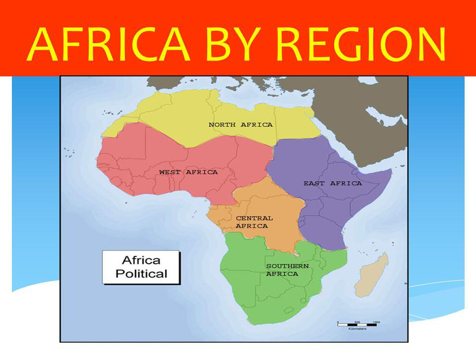 AFRICA BY REGION