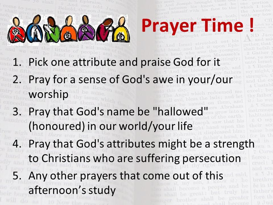 Prayer Time .