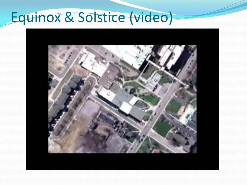 Equinox & Solstice (video)
