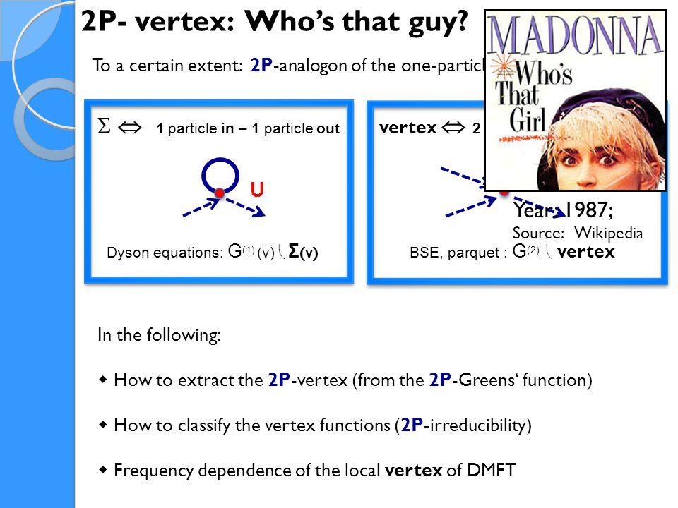 2P- vertex: Who's that guy.