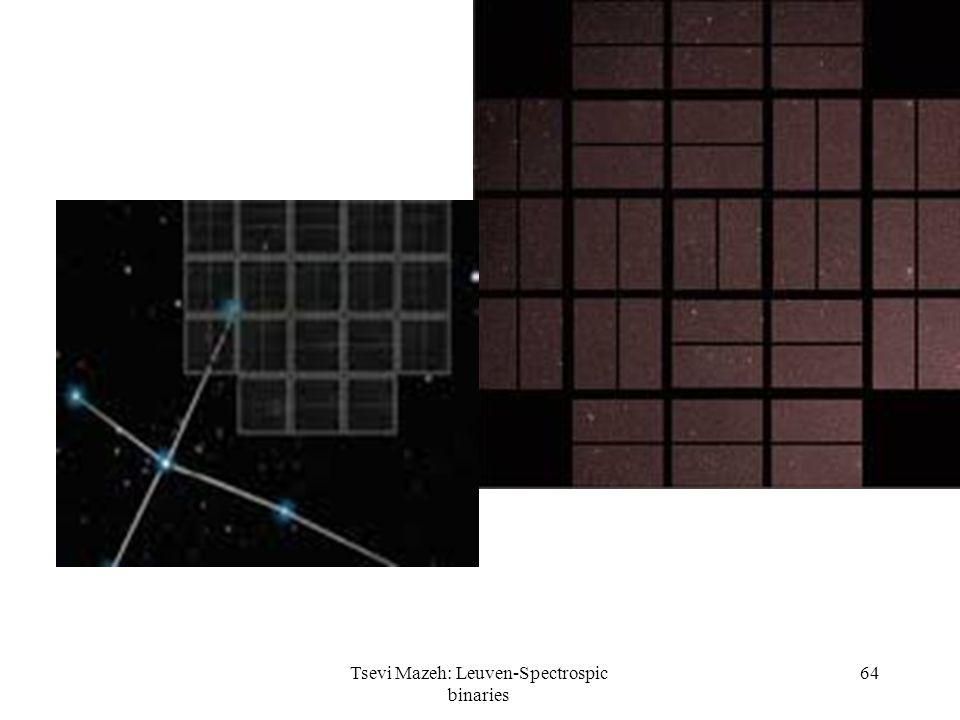 Tsevi Mazeh: Leuven-Spectrospic binaries 64