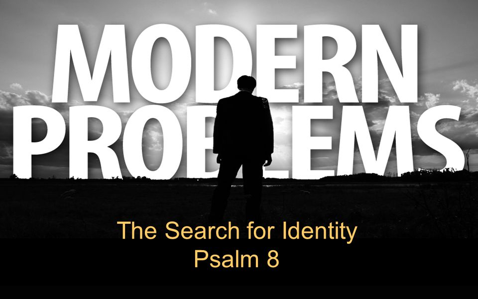 The Search for Identity Psalm 8