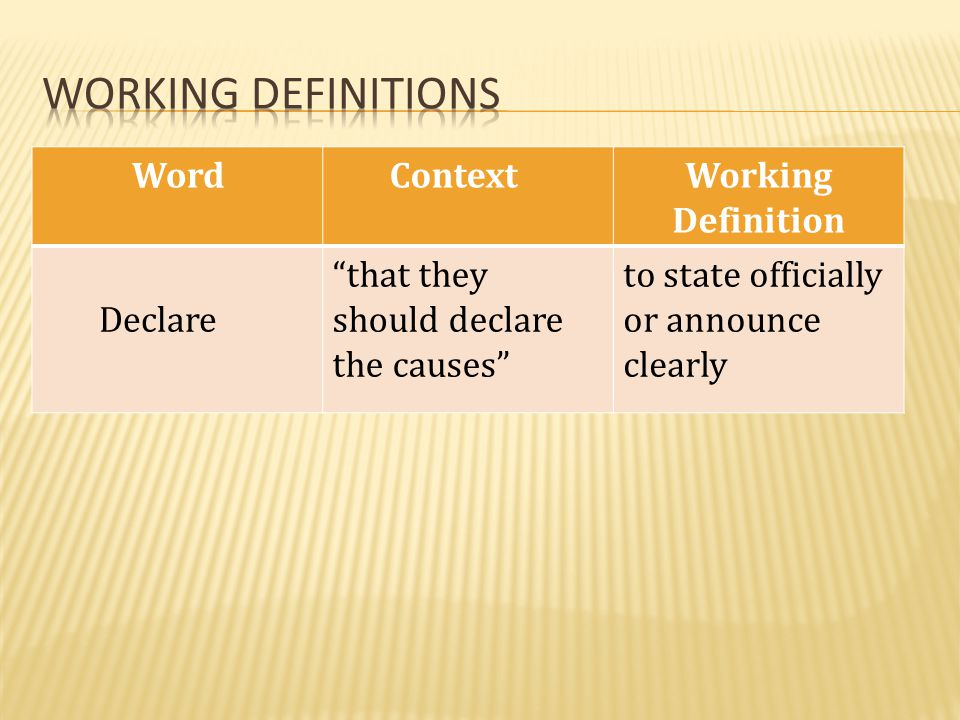 Word ContextWorking Definition impel