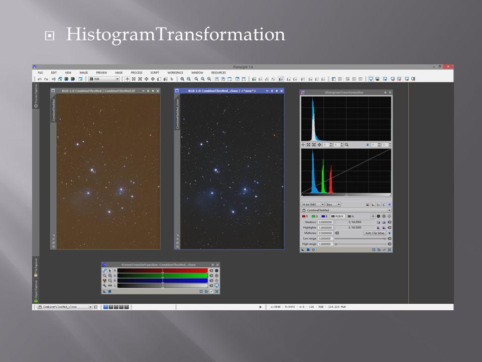  HistogramTransformation