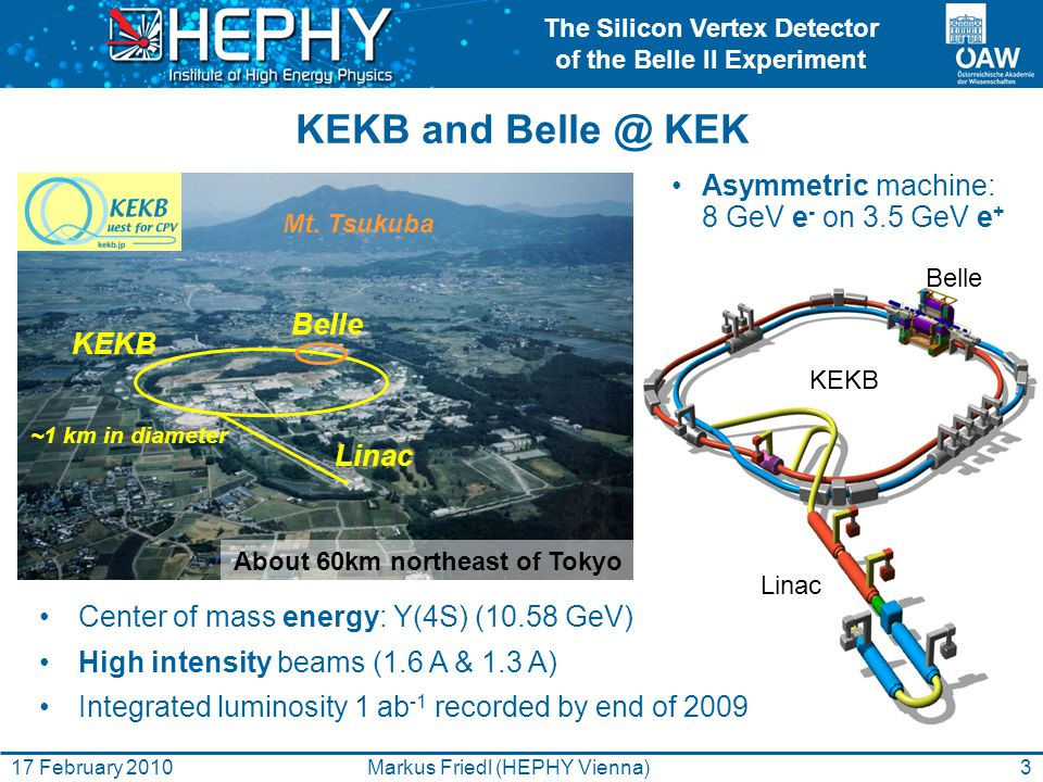 The Silicon Vertex Detector of the Belle II Experiment 14Markus Friedl (HEPHY Vienna)17 February 2010 APV25 Readout Chip Developed for CMS (LHC) by IC London and RAL (70k chips installed) 0.25 µm CMOS process (>100 MRad tolerant) 40 MHz clock (adjustable), 128 channels 192 cell analog pipeline  no dead time 50 ns shaping time  low occupancy Low noise: 250 e + 36 e/pF  must minimize capacitive load!!.