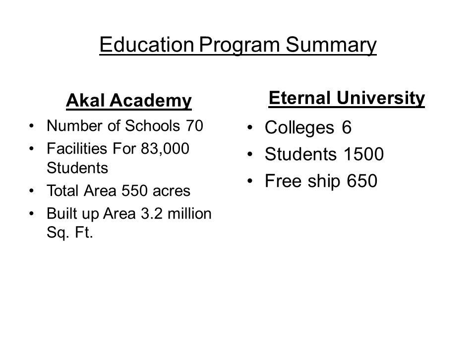 Kalgidhar Trust's Beneficiaries Direct Beneficiaries 32000 students.