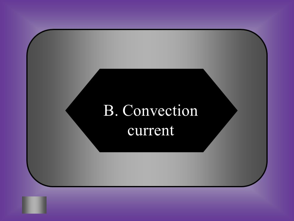 A:B: Ocean currentConvection current C:D: Conduction currentRadiation current #5 This diagram shows what type of current.