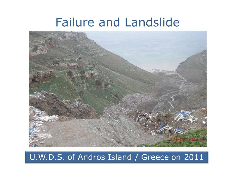 Avoiding Failures-landslides Geotechnical Site Investigation of U.W.D.S.