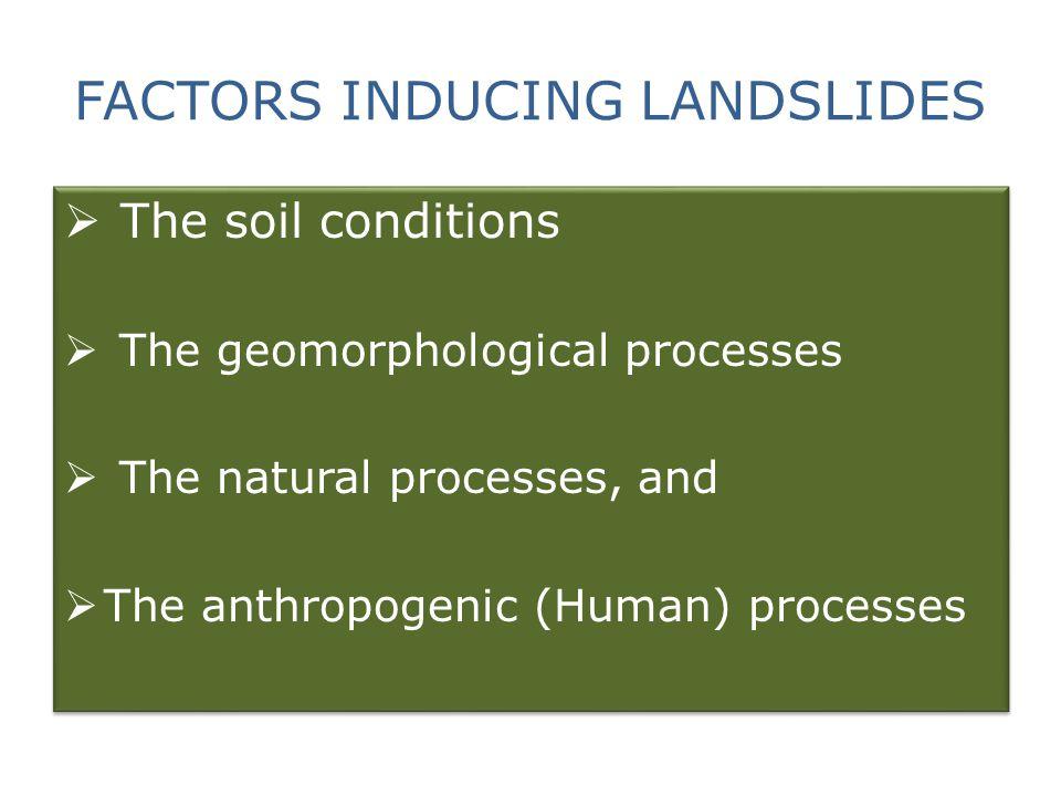 SLOPE INSTABILITY IF Shear stresses > Shear strength of soil/waste Failure and Landslide IF Shear stresses > Shear strength of soil/waste Failure and Landslide
