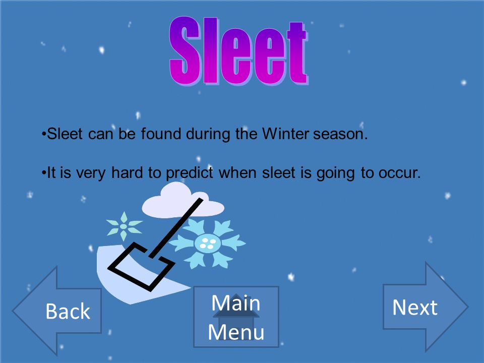 What is sleet made of? SnowRain