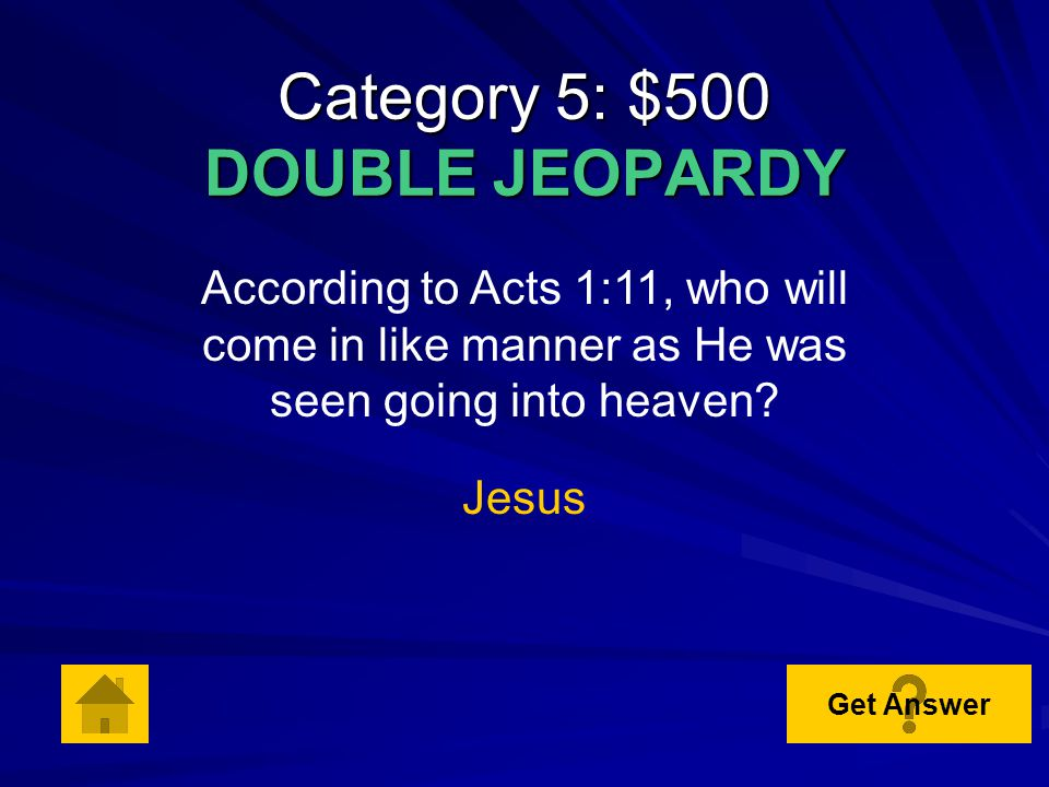Category 5: $400 According to Acts 8:1, who consented to the death of Stephen Saul Get Answer