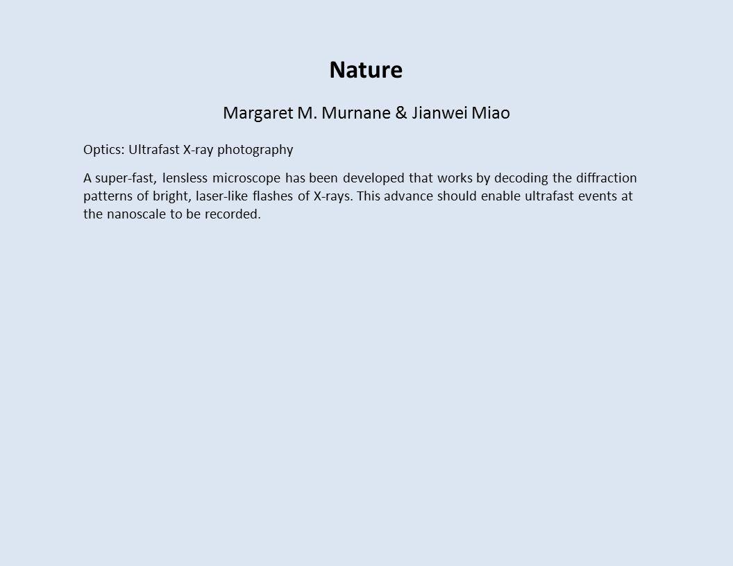 Nature Margaret M.