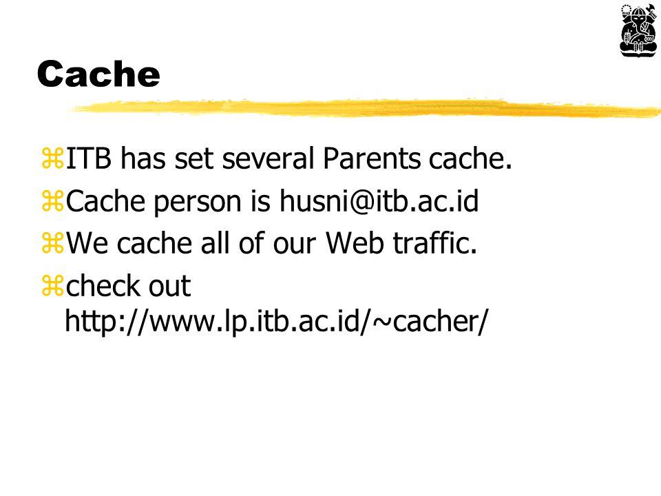 Cache zITB has set several Parents cache.
